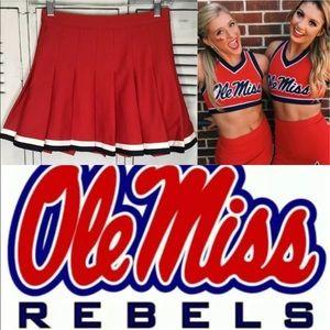 Cheerleading skirt adult xs ole miss